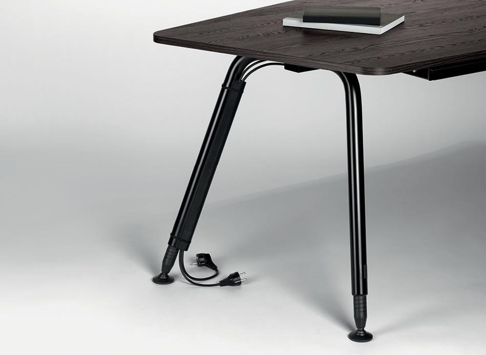bend tischsystem produkt braun blende tisch blaha office strom steckdose slider 9