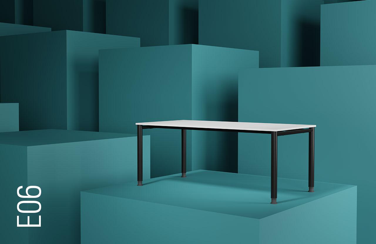 blaha buero evolution tischsysteme mint blau schlicht blau slider e05