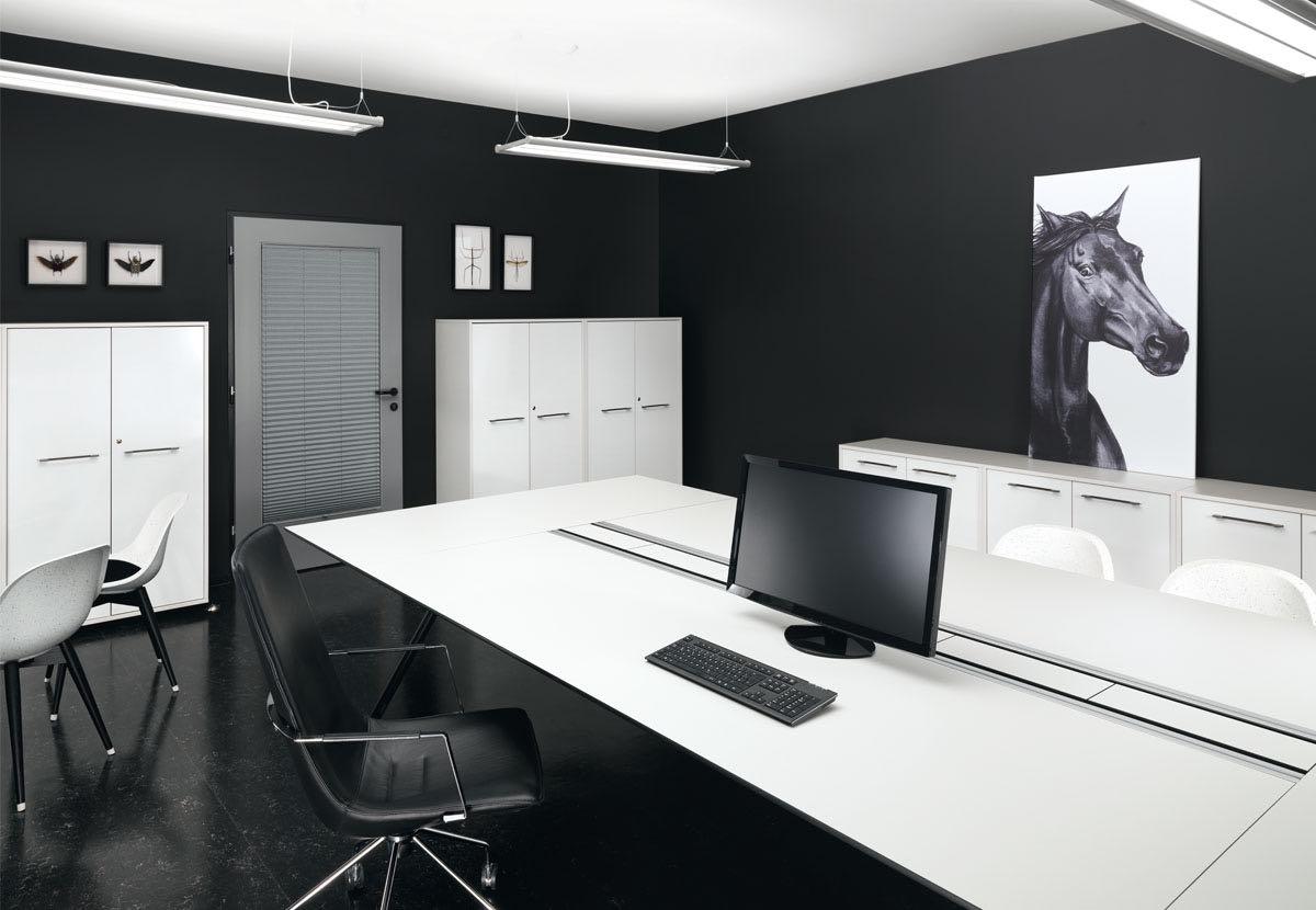 buero ordnung blaha office stauraum systeme frame schwarz schreibtisch sessel slider 4 1