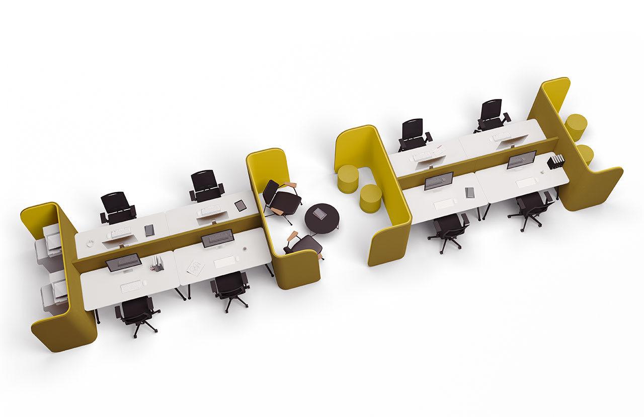 casoni perform slider blaha office buero gelb hocker schreibtischsessel schreibtisch 3