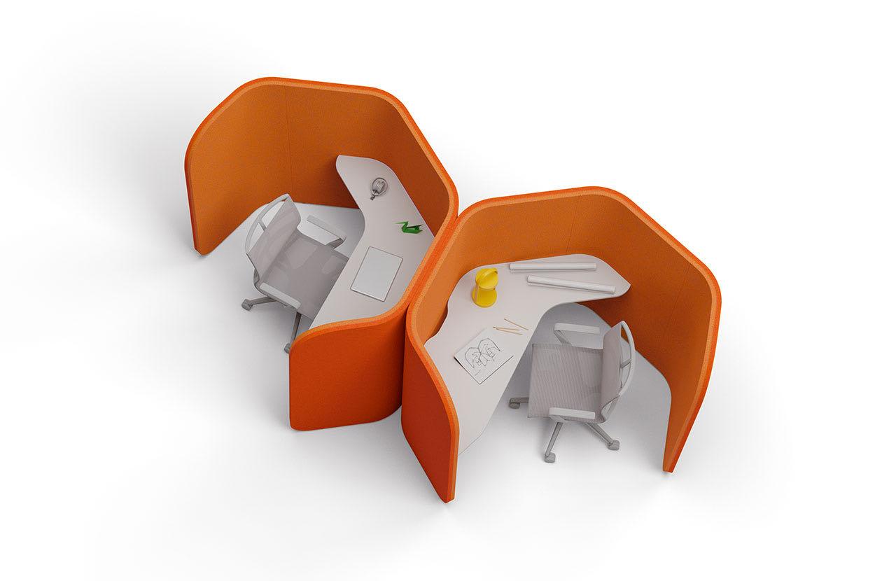 casoni think slider blaha buero office raumtrenner orange grau schreibtisch moebel 3