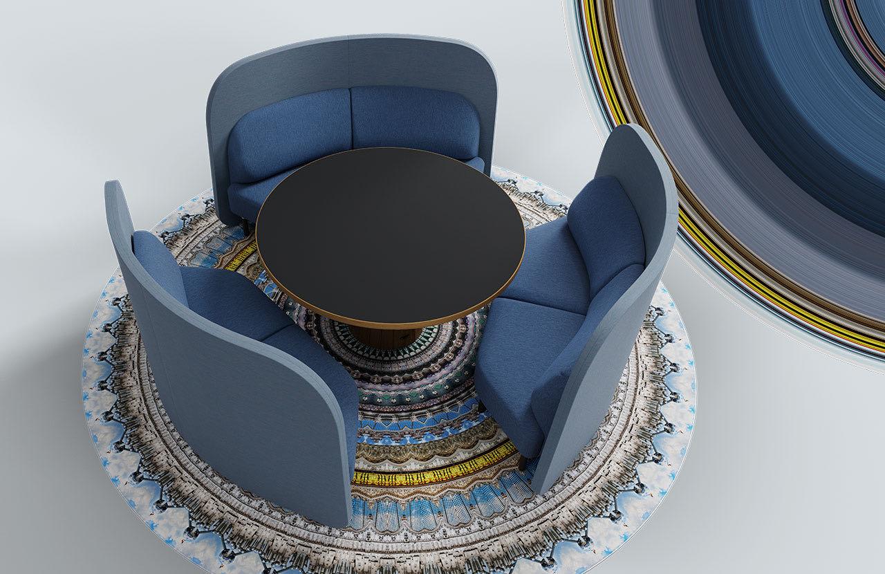 couch caletta office blaha buero hellblau blau tisch slider 2 3