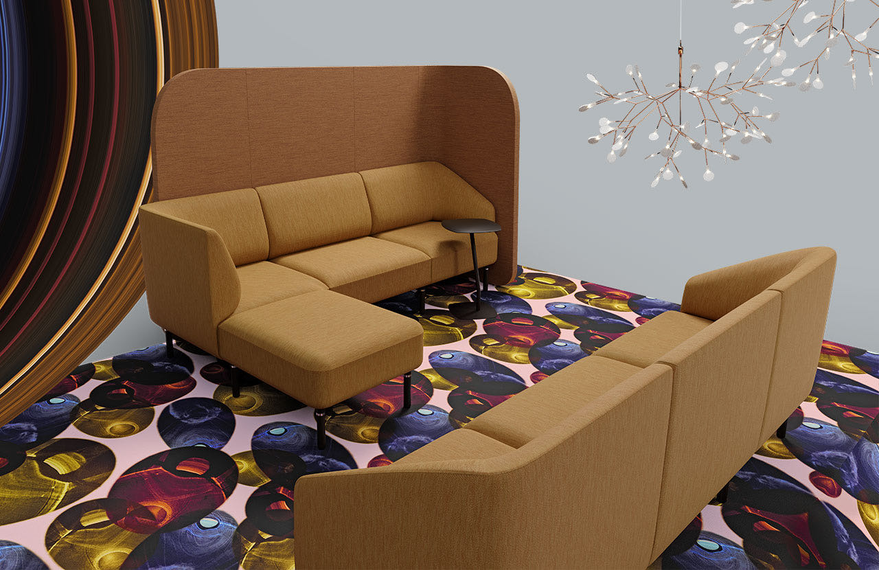 couch caletta office blaha buero muster couchtisch gold raumtrenner