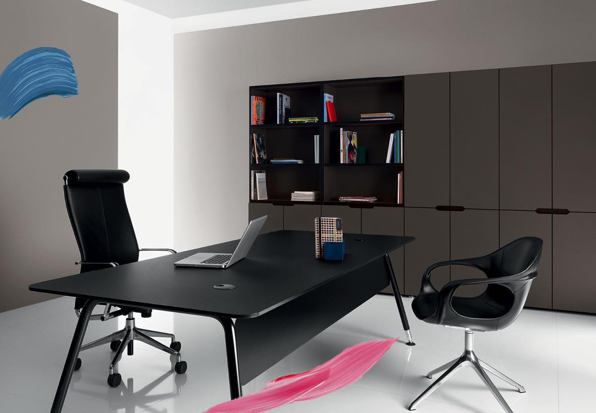 office blend blaha buero schreibtisch schwarz organisation aktenschrank ordnen