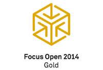 office buero blaha focus open 2014 gold logo