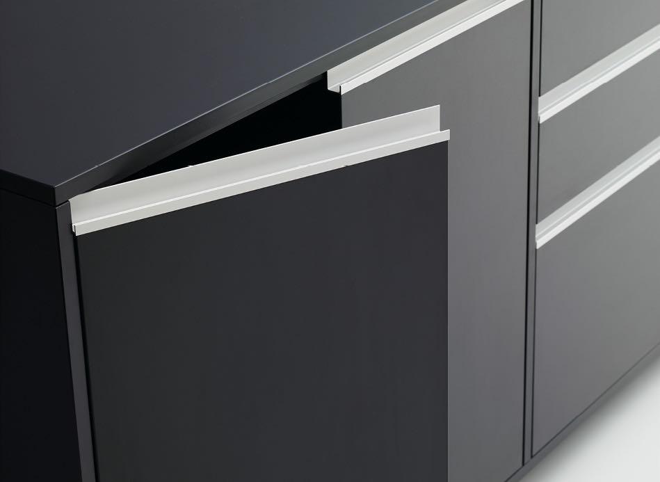 office loftline stauraumsystem stauraum detail schwarz aktenschrank slider 2