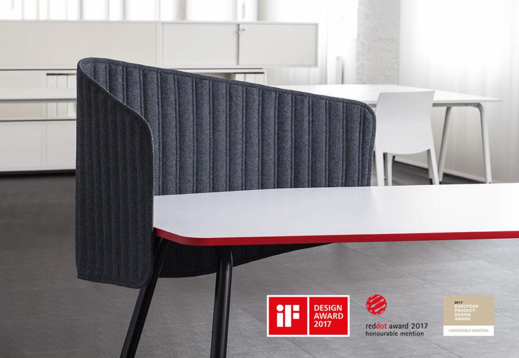 pais office blaha buero office design award 2017 reddot award european product design award honorable mention