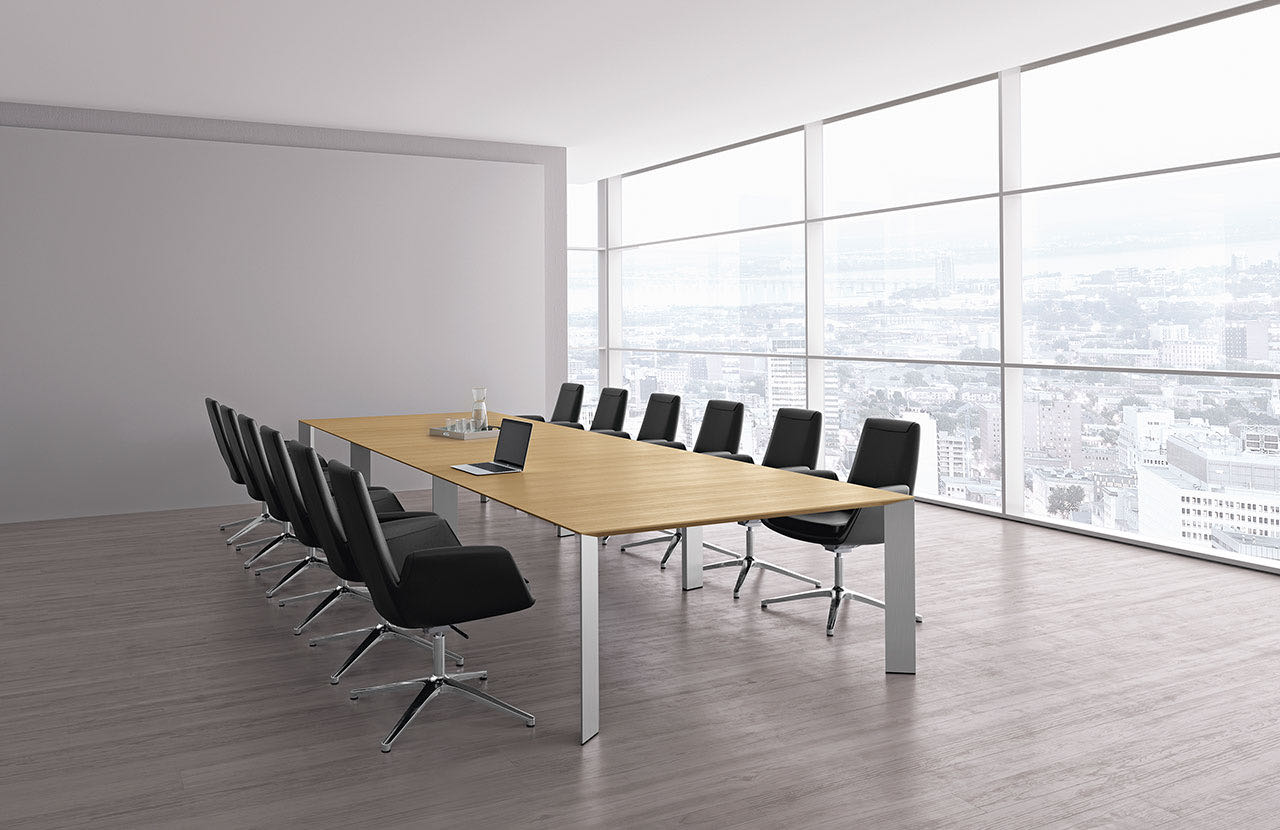 paper blaha buero office tisch elegant schreibtischsessel besprechung meeting
