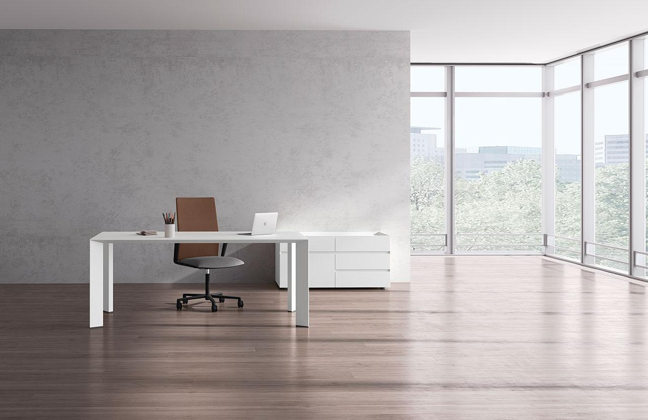 paper blaha buero office tisch elegant schreibtischsessel konzentration