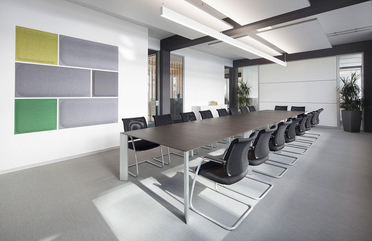 paper blaha buero office tisch elegant schreibtischsessel meeting besprechung