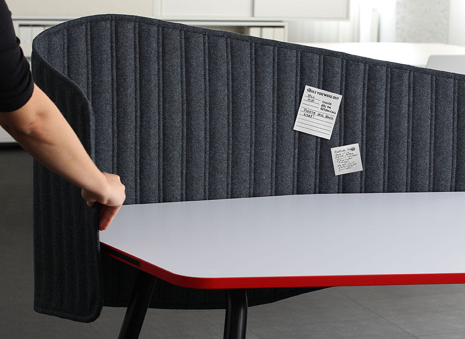 slider pais detail kante grau magnet organisation pinnwand tisch blaha buero office 4