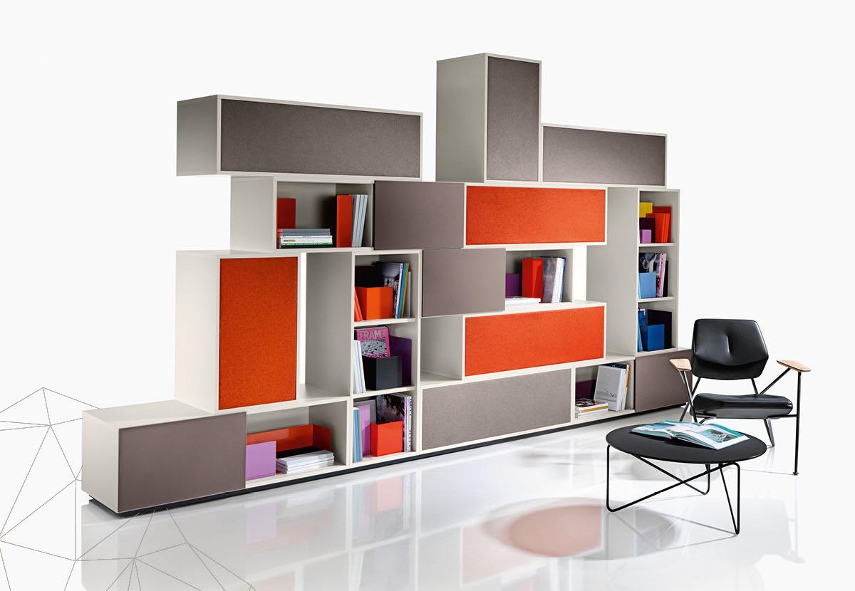 struct blaha buero office organisation braun orange weiss couch sessel schrank kasten ordnung 5 1