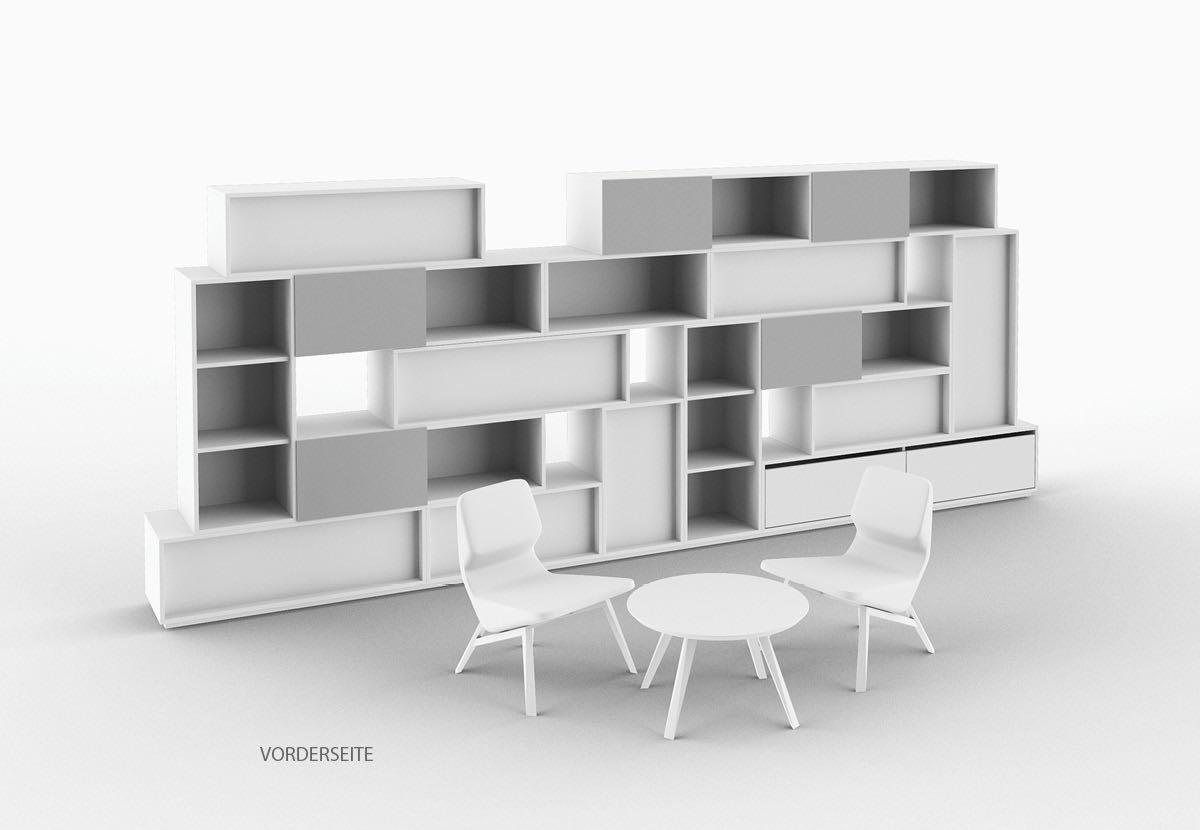 struct blaha buero office organisation konzentration besprechung weiss couch sessel schrank kasten ordnung 5 2